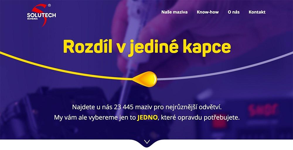 Nová homepage