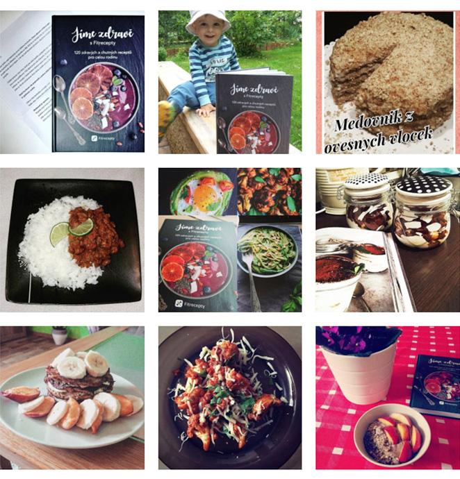 Kuchařce jsme vymysleli i vlastní hashtag. Mrkněte se na recenze na Instagramu.